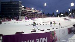 Zlato ze štafety biatlonistů vybojovali Rusové, Češi jedenáctí