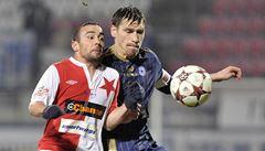 Fotbalová Slavia schytala v Olomouci pětibrankový příděl