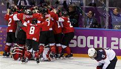 Zámořské drama. Hokejistky Kanady sebraly USA olympijský titul
