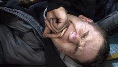 Krvavý den v Kyjevě objektivem reportérky LN Petry Procházkové