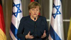 Íránský jaderný program ohrožuje i Evropu, řekla Merkelová v Izraeli