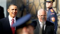 US President Barack Obama and his Czech counterpart Václav Klaus came in fist and second, respectively, in the poll