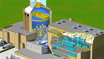Westinghouse's new Czech-language website explains the proposed AP1000 reactor in detail with drawings and a video