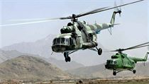 Russian-made Mi-17s in Afghanistan