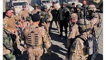 Members of the third Czech OMLT preparing for an operation with Afghan army soldiers in the Maidan Wardak province, Afghanistan