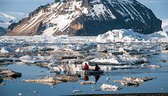 Ledovcový štít na Antarktidě se láme, varují vědci