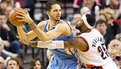Denver v NBA znovu prohrál, Veselý se nevešel do sestavy