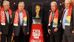Trofej pro fotbalové mistry světa je poprvé v historii v Česku