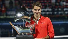 Federer utnul ve finále v Dubaji Berdychův sen o druhém titulu v řadě