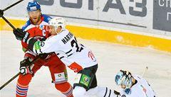 Lev porazil Záhřeb i počtvrté a postoupil do čtvrtfinále KHL
