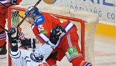 Lvi vstoupili do play off KHL vítězně, v Praze porazili Záhřeb
