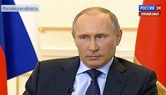 Putin: Zásah na Krymu je soudružská pomoc, pomůžeme i východu Ukrajiny
