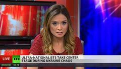 Před kamerami odsoudila Kreml. Z Russia Today odešla další redaktorka