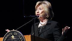 Clintonová srovnala okupaci Krymu s Hitlerovými zábory z 30. let