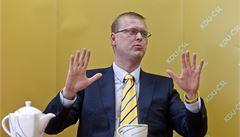 Bělobrádek: Sobotkova slova o NATO v Evropě jsou nezodpovědná