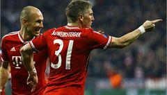 Bayern a Atlético zvládly odvety a jsou ve čtvrtfinále Ligy mistrů