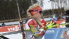 Super, radovala se biatlonistka Soukalová. Závod jí však bolel