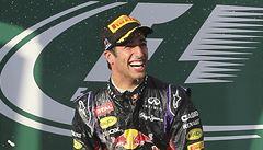 Diskvalifikace po úvodním závodu F1, druhý Ricciardo porušil pravidla