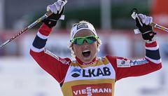 Johaugová vyhrála poprvé v kariéře Světový pohár v běhu na lyžích