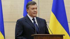 Janukovyč proti Putinovi: Rusy jsem na Krym pozval, ale odtržení je tragédie