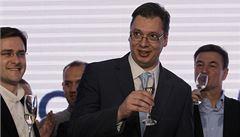 V srbských volbách triumfovala Vučićova SNS, opozici voliči nevěří
