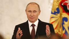 Putin: Agresivní Západ se kvůli Krymu snaží rozvrátit celosvětový řád