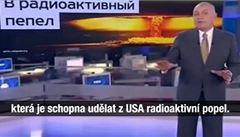 Můžeme USA změnit v radioaktivní popel, řekl Putinův moderátor ve vysílání