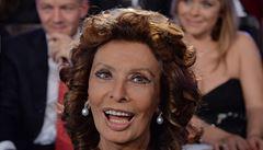 Sophia Lorenová si ke kulatinám přeje telefonát od papeže