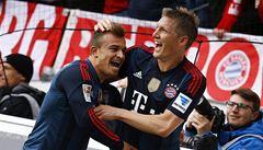 Dva góly v závěru a Bayern porazil Mohuč. Ale titul ještě jistý nemá