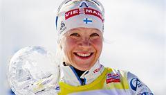 Světový pohár biatlonistek vyhrála Mäkäräinenová, Soukalová čtvrtá