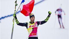 Králem biatlonistů je Fourcade, Češi se v posledním závodu SP trápili