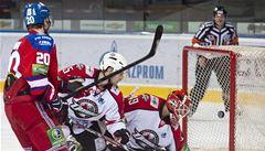 Lev prohrál nejdelší klání KHL. Lidé usínali, někteří spěchali na metro