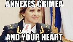 Putinův krymský trumf: sexy prokurátorka uhranula internet