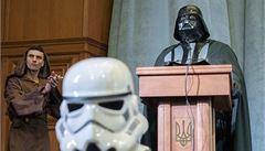 Darth Vader: Chci být prezidentem Ukrajiny. Vytvořím z ní mocné impérium
