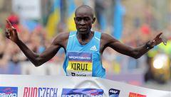 Pražský půlmaraton patřil Keňanům, Chepkiruiová zaběhla traťový rekord