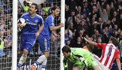 Chelsea nezaváhala, snadno porazila Stoke a ligu vede o bod