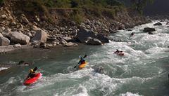 Sjezd indické řeky Pindar: Můj první 'multiday'