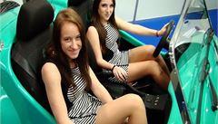 Nevídané novinky i krásné dívky. Právě probíhá bratislavský autosalon