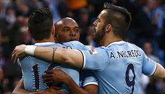Manchester City vyhrál i pošesté a dotáhl se na první Chelsea