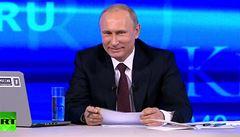 Putin: Kdybych se topil, Obama by mě zachránil. Je to dobrý člověk