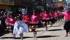 Tanec, zpěv a víra na chilské Fiesta de La Tirana přitahují statisíce lidí