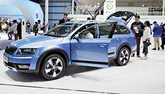 Škoda Auto představila v Číně nový model vozu Octavia a Yeti