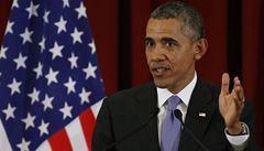 Posílíme svou pozici a Putina odradíme, prohlásil Obama