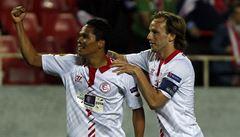 Sevilla a Benfica v úvodním semifinále Evropské ligy vyhrály