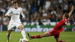 Do finále Ligy mistrů má blíž Real, v Madridu porazil Bayern 1:0