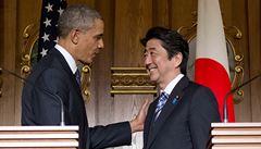 Obama v Tokiu: výzva k dohodě s Čínou a ostrá kritika Moskvy