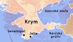 Rusko investuje na Krymu 55 miliard. Chce zlepšit turistický ruch