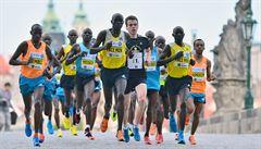 Jubilejní Pražský maraton vyhrál Keňan Terer, ve větru rekord neohrozil