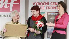 Cena Arnošta Lustiga pro redaktorku LN Juditu Matyášovou