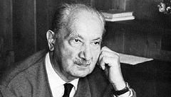 Filozof Heidegger obdivoval Hitlera, ukazují jeho skrývané dopisy